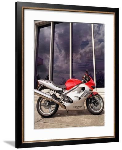 Triumph TT 600 CC Motorcycle Road Record, July 2000--Framed Art Print