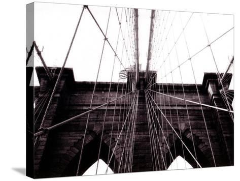 Brooklyn Bridge--Stretched Canvas Print