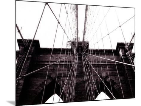 Brooklyn Bridge--Mounted Photographic Print
