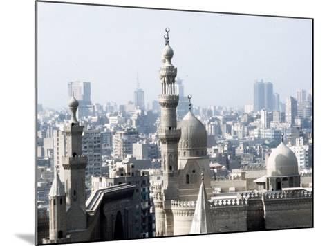 Cairo City, the Mosque of Sultan Hassan--Mounted Photographic Print