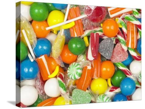 Mixed Candies--Stretched Canvas Print