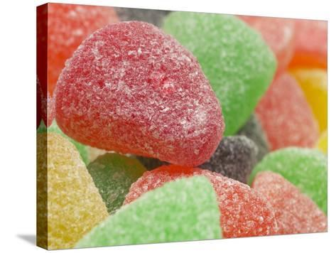 Sugar-Coated Gumdrops--Stretched Canvas Print