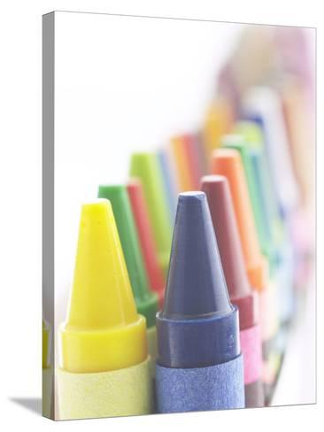 Box of Crayons--Stretched Canvas Print