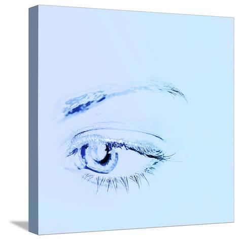 Close-up of a Human Eye--Stretched Canvas Print