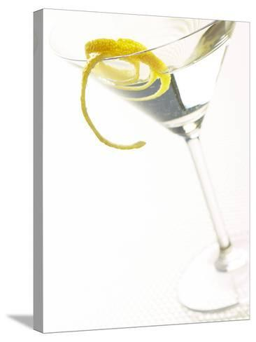 Martini with a Twist--Stretched Canvas Print