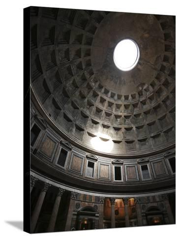 Dome of the Pantheon--Stretched Canvas Print