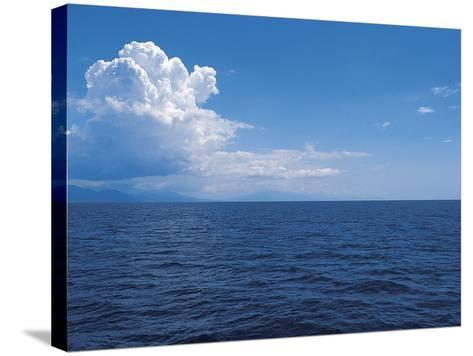 Clouds above the Sea--Stretched Canvas Print