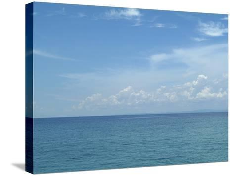 Surface of Sea Water--Stretched Canvas Print
