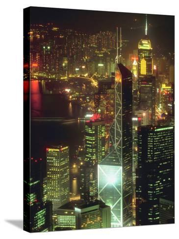 Cityscape of Hong Kong--Stretched Canvas Print