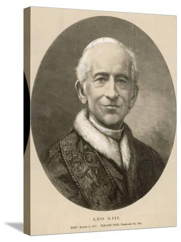 Pope Leo XIII (Gioacchino Vincenzo Raffaelle Luigi Pecci) at the Time of His Death--Stretched Canvas Print
