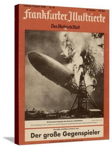 The Hindenburg Disaster--Stretched Canvas Print