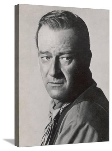 John Wayne American Film Actor--Stretched Canvas Print