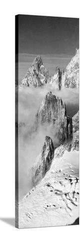 Pinnacle of White Mountain--Stretched Canvas Print