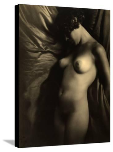 Nude Woman--Stretched Canvas Print