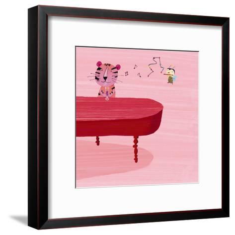 Jazz Critters III--Framed Art Print