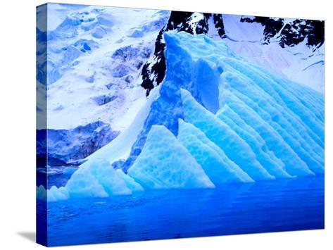 Blue Icebergs, Antarctica-Joe Restuccia III-Stretched Canvas Print