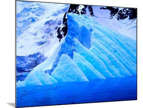 Blue Icebergs, Antarctica-Joe Restuccia III-Mounted Photographic Print