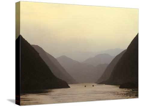 Three Gorges, Yangtze River, China-Keren Su-Stretched Canvas Print