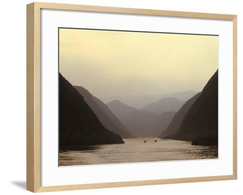 Three Gorges, Yangtze River, China-Keren Su-Framed Art Print