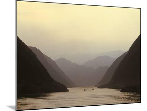 Three Gorges, Yangtze River, China-Keren Su-Mounted Photographic Print