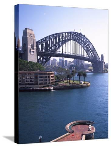 Sydney Harbor Bridge, Australia-David Wall-Stretched Canvas Print