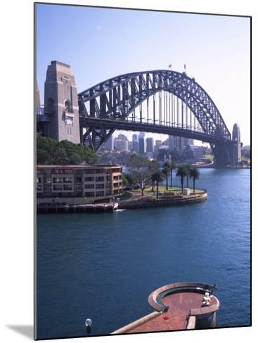 Sydney Harbor Bridge, Australia-David Wall-Mounted Photographic Print