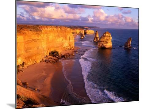 Morning at 12 Apostles, Great Ocean Road, Port Campbell National Park, Victoria, Australia-Howie Garber-Mounted Photographic Print