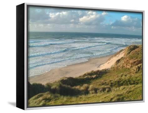 Farewell Spit, New Zealand-William Sutton-Framed Canvas Print