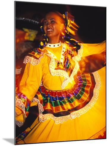 Traditional Mexican Dress, Caribbean-Robin Hill-Mounted Photographic Print