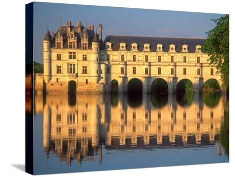 Chenonceau Chateau, Loire Valley, France-David Barnes-Stretched Canvas Print