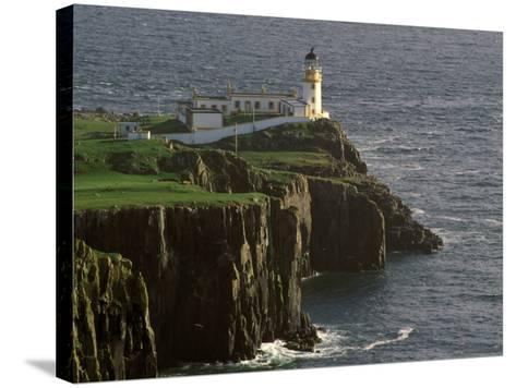 Neist Point Lighthouse, Isle of Skye, Scotland-Gavriel Jecan-Stretched Canvas Print