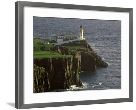 Neist Point Lighthouse, Isle of Skye, Scotland-Gavriel Jecan-Framed Art Print