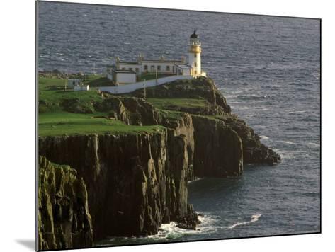 Neist Point Lighthouse, Isle of Skye, Scotland-Gavriel Jecan-Mounted Photographic Print