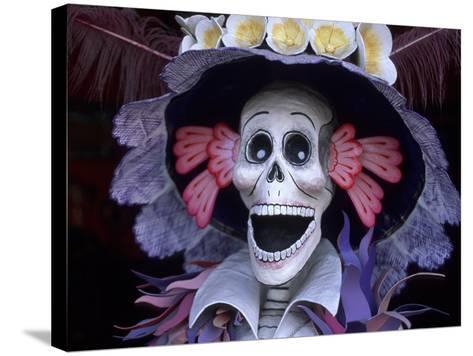 Corazon Del Pueblo Folk Art Store, Day of the Dead, Oaxaca, Mexico-Judith Haden-Stretched Canvas Print