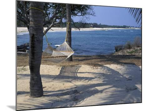Beach Hammock, Punta Mita, Puerto Vallarta, Mexico-Judith Haden-Mounted Photographic Print