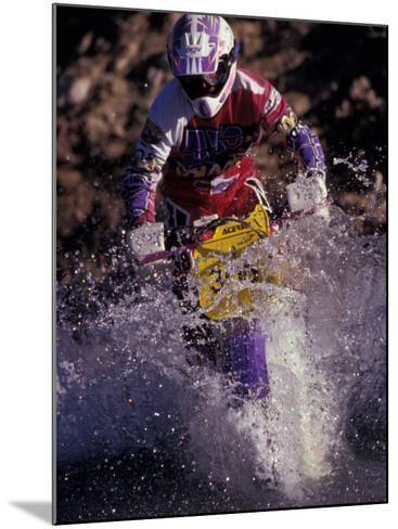 Dirt Biking, Colorado, USA-Lee Kopfler-Mounted Photographic Print