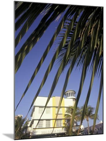 Waldorf Towers, South Beach, Miami, Florida, USA-Robin Hill-Mounted Photographic Print