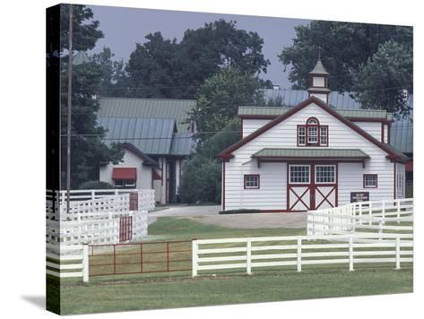 Calumet Horse Farm, Lexington, Kentucky, USA-Adam Jones-Stretched Canvas Print