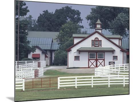 Calumet Horse Farm, Lexington, Kentucky, USA-Adam Jones-Mounted Photographic Print