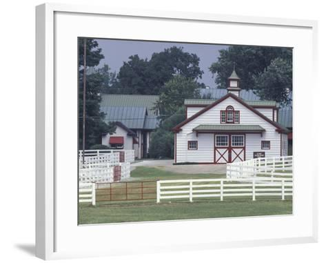 Calumet Horse Farm, Lexington, Kentucky, USA-Adam Jones-Framed Art Print