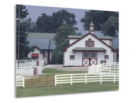 Calumet Horse Farm, Lexington, Kentucky, USA-Adam Jones-Metal Print