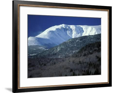 Huntington Ravine From the Glen House Site in the White Mountains, New Hampshire, USA-Jerry & Marcy Monkman-Framed Art Print