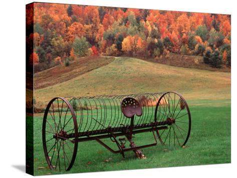 Farm Scene, Vermont, USA-Charles Sleicher-Stretched Canvas Print