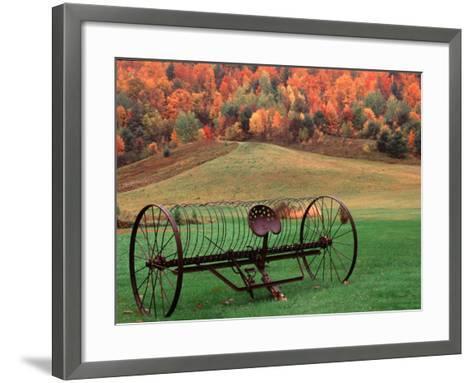 Farm Scene, Vermont, USA-Charles Sleicher-Framed Art Print