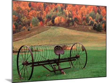 Farm Scene, Vermont, USA-Charles Sleicher-Mounted Photographic Print