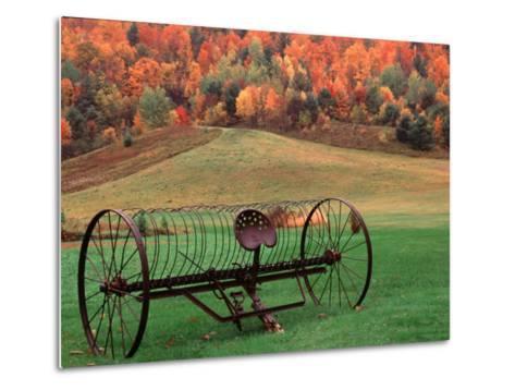 Farm Scene, Vermont, USA-Charles Sleicher-Metal Print