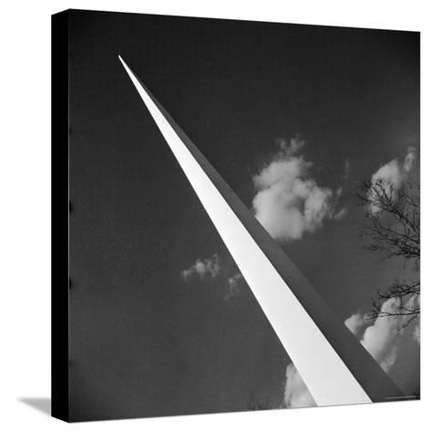 View of the Iconic Trylon on the Grounds of the 1939 New York World's Fair-Alfred Eisenstaedt-Stretched Canvas Print