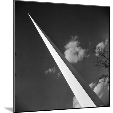 View of the Iconic Trylon on the Grounds of the 1939 New York World's Fair-Alfred Eisenstaedt-Mounted Photographic Print