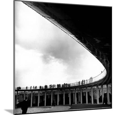 Tourists Walking About the Grounds of the New York World's Fair-David Scherman-Mounted Photographic Print