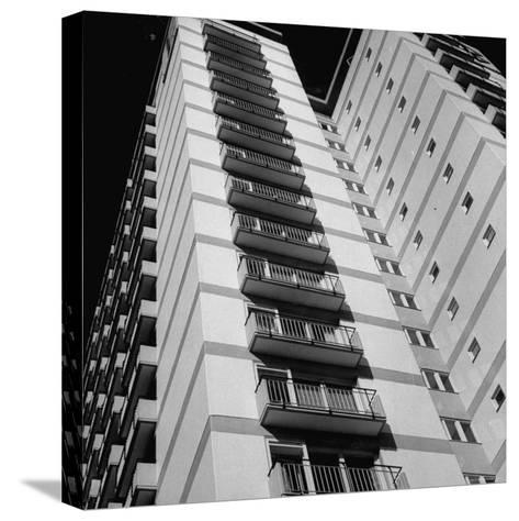 Bachelor Apartment House-Michael Rougier-Stretched Canvas Print